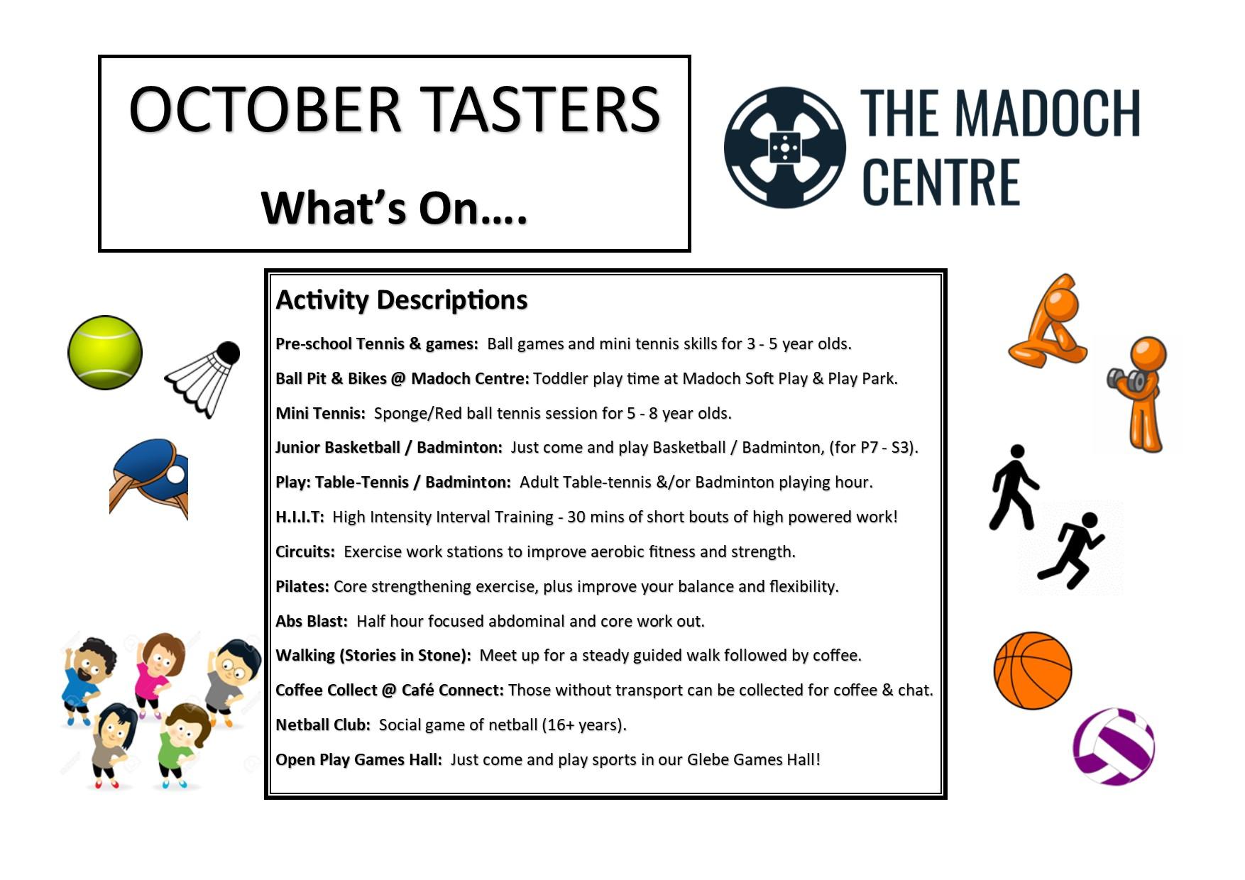 October, Week 2: This Week's Stories